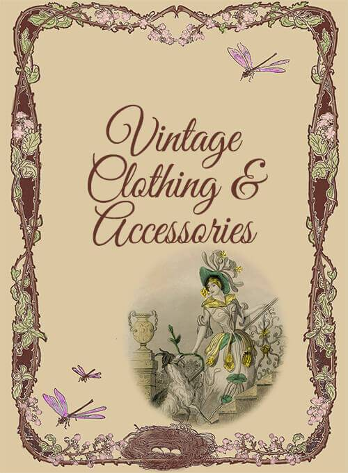 Shopping Online for Vintage Clothing and Accessories from Your Vintage Friends