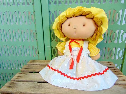 Vintage Elka Soft Toys Plushie Plush Doll