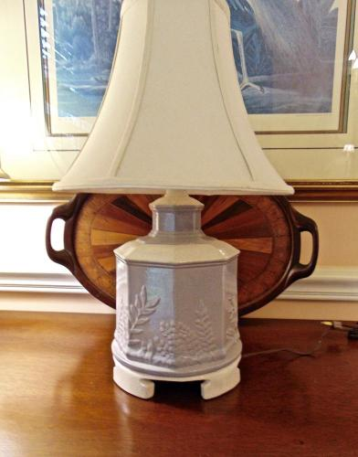 Vintage Haeger Pottery Table Lamp