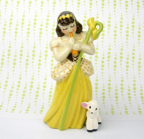 1940s Vintage Little Bo Peep Figurine